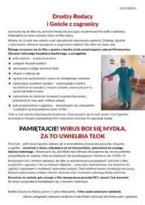 ulotka - apel lekarzy - koronawirus